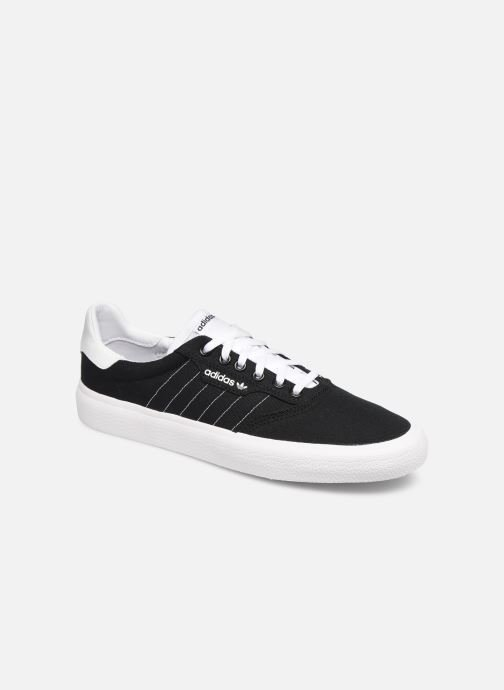 Sneakers adidas originals 3Mc Zwart detail
