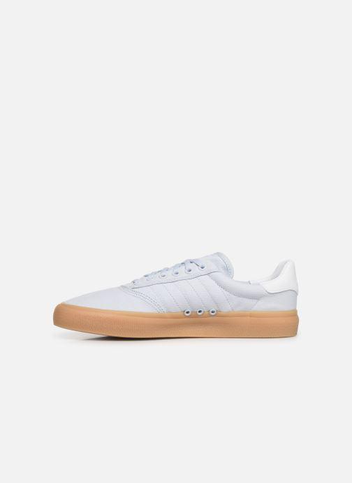 Sneakers adidas originals 3Mc Azzurro immagine frontale