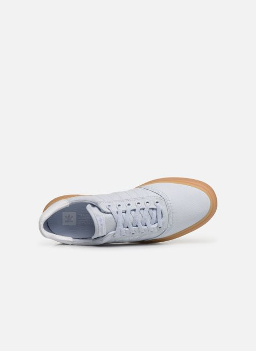 Baskets adidas originals 3Mc Bleu vue gauche