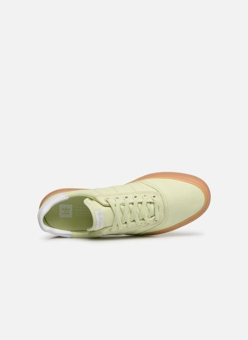 Sneaker adidas originals 3Mc grün ansicht von links