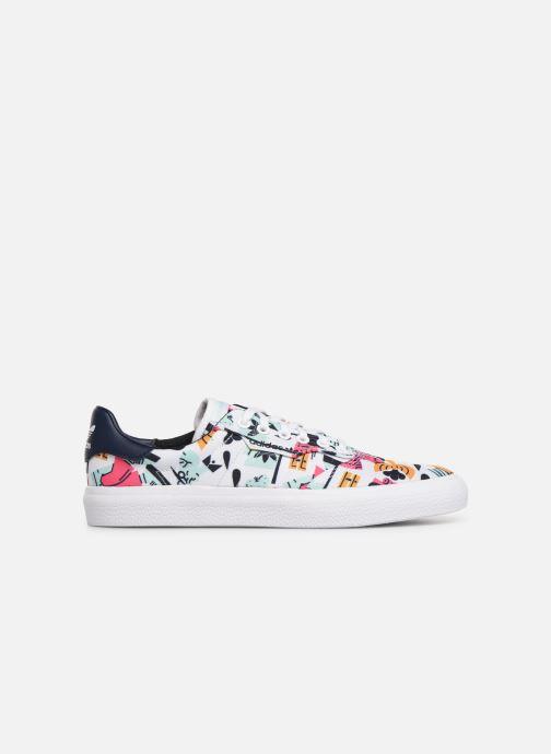 Sneakers adidas originals 3Mc Wit achterkant