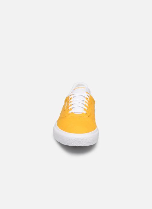 Baskets adidas originals 3Mc Jaune vue portées chaussures