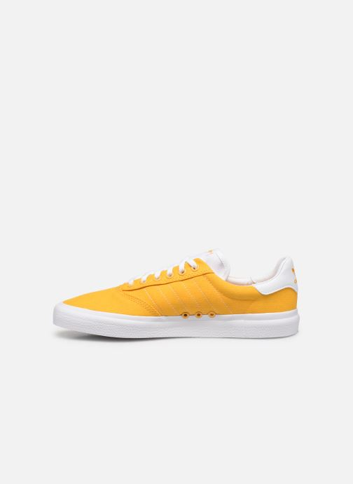 Baskets adidas originals 3Mc Jaune vue face