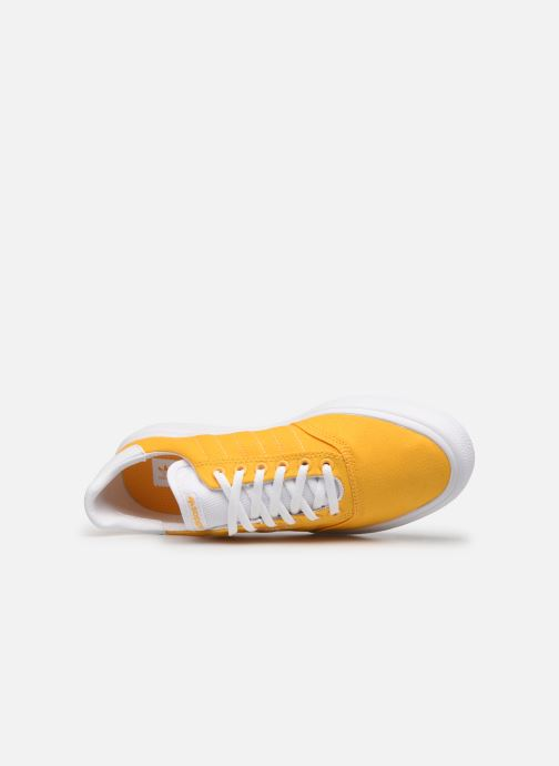 Baskets adidas originals 3Mc Jaune vue gauche