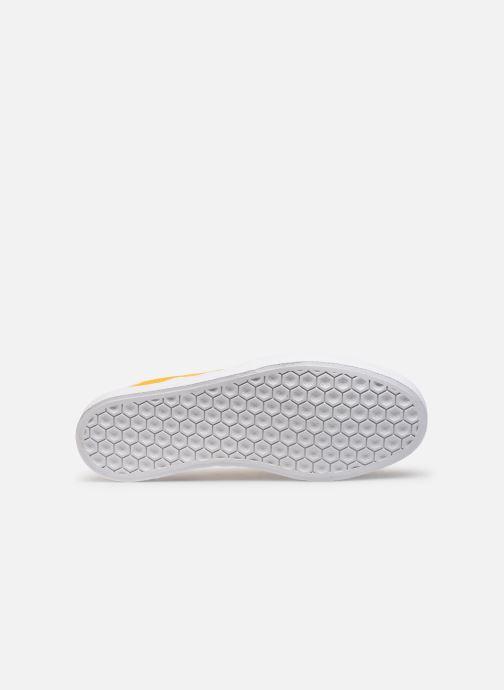 Baskets adidas originals 3Mc Jaune vue haut