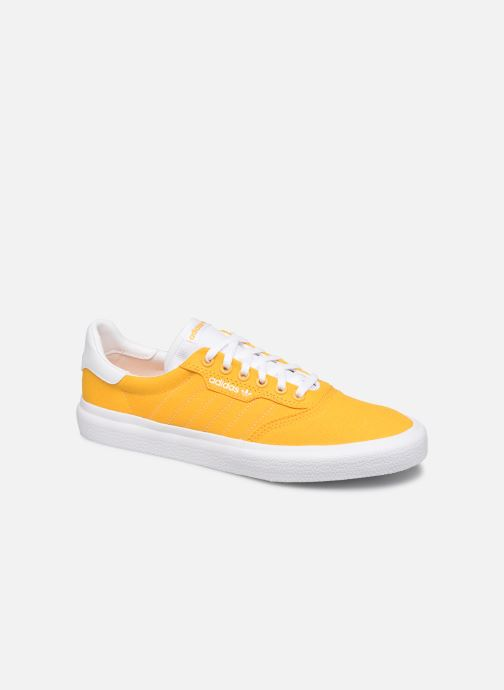 Baskets adidas originals 3Mc Jaune vue détail/paire