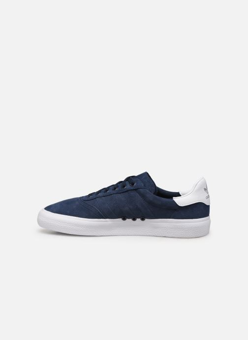 Sneaker adidas originals 3Mc blau ansicht von vorne