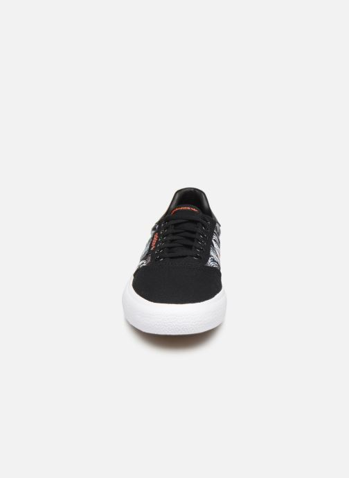 Baskets adidas originals 3Mc Bleu vue portées chaussures