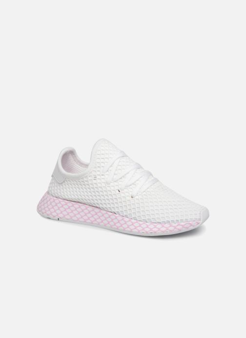 e9815a401f403 adidas originals Deerupt W (White) - Trainers chez Sarenza (343155)