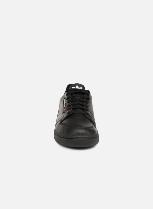 Sneaker adidas originals Continental 80 schwarz schuhe getragen