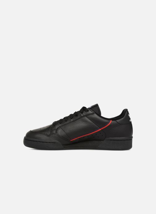 Baskets Adidas Originals Continental 80 Noir vue face