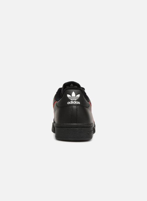 Sneaker adidas originals Continental 80 schwarz ansicht von rechts