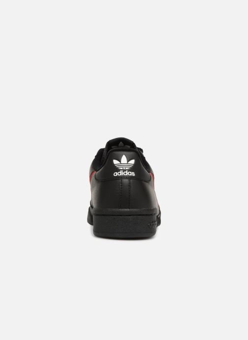 Deportivas Adidas Originals Continental 80 Negro vista lateral derecha