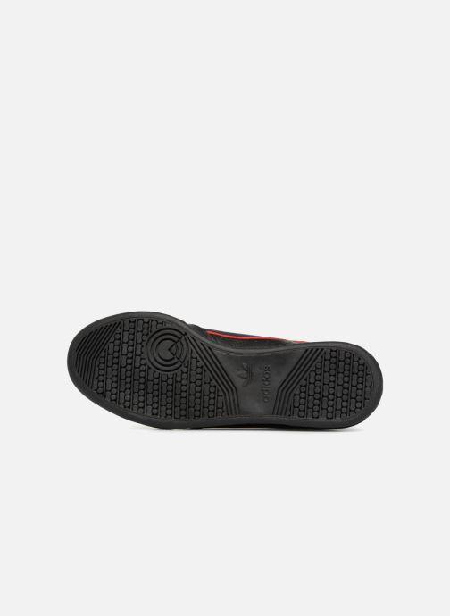 Baskets adidas originals Continental 80 Noir vue haut