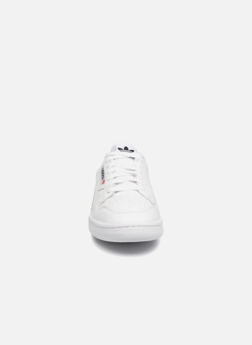 Baskets adidas originals Continental 80 Blanc vue portées chaussures