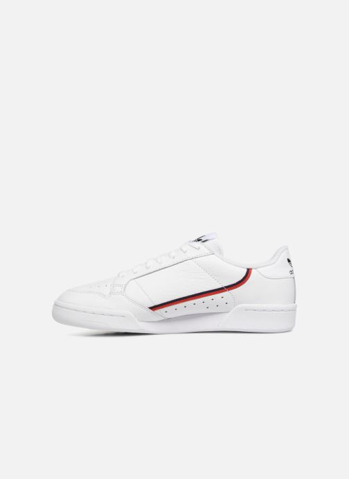 Sneakers adidas originals Continental 80 Hvid se forfra