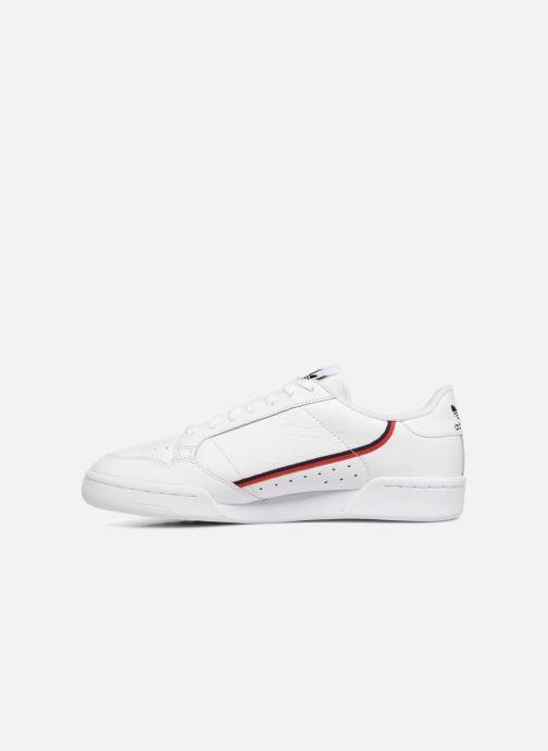 Baskets adidas originals Continental 80 Blanc vue face