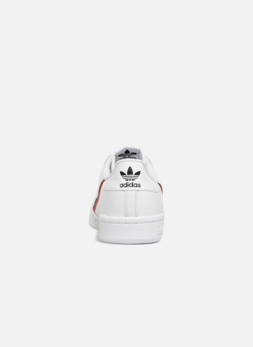 Trainers adidas originals Continental 80 White view from the right