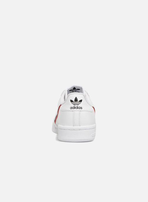 Sneakers adidas originals Continental 80 Hvid Se fra højre
