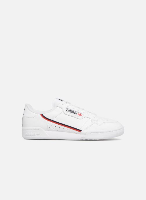 Sneakers adidas originals Continental 80 Wit achterkant