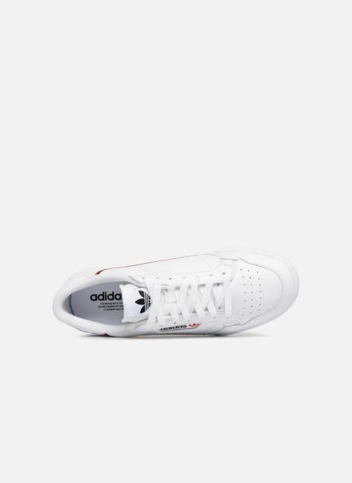 Trainers adidas originals Continental 80 White view from the left