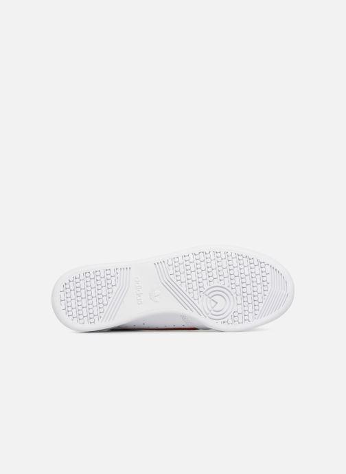 Baskets adidas originals Continental 80 Blanc vue haut