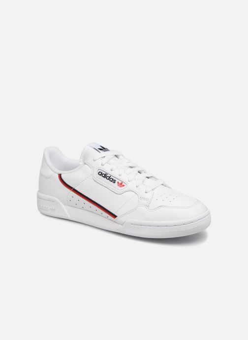 official photos 82f4d d7626 Baskets adidas originals Continental 80 Blanc vue détail paire