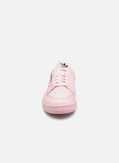Sneaker Adidas Originals Continental 80 rosa schuhe getragen