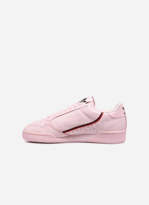 Sneaker adidas originals Continental 80 rosa ansicht von vorne