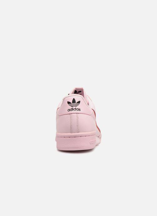 Sneaker adidas originals Continental 80 rosa ansicht von rechts