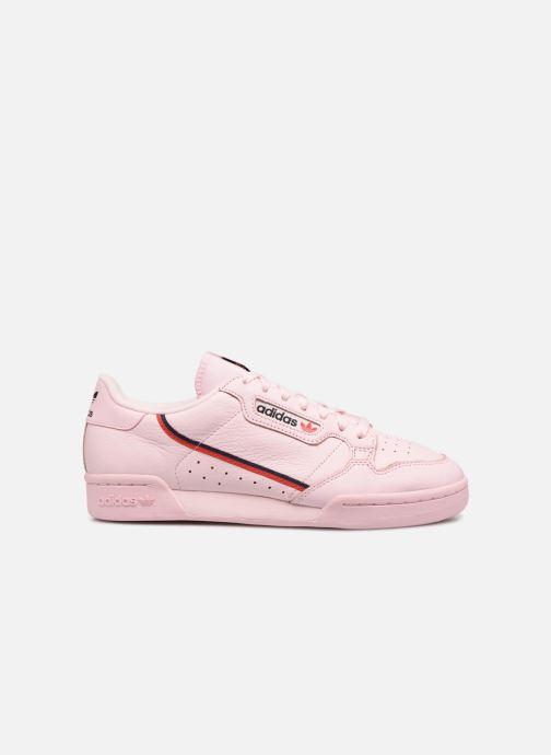 Sneaker Adidas Originals Continental 80 rosa ansicht von hinten
