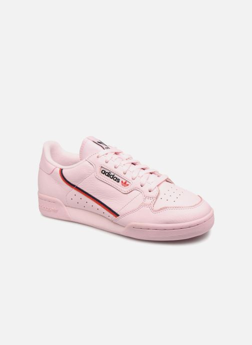 Baskets adidas originals Continental 80 Rose vue détail/paire