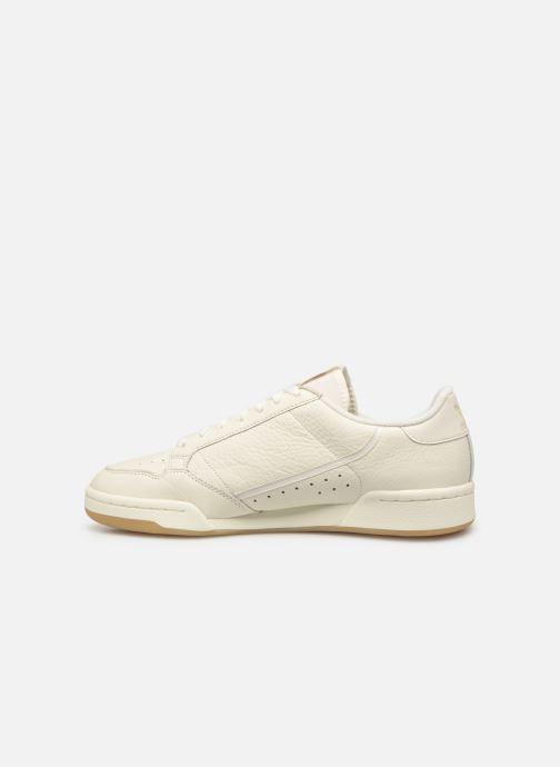 Sneakers adidas originals Continental 80 Wit voorkant