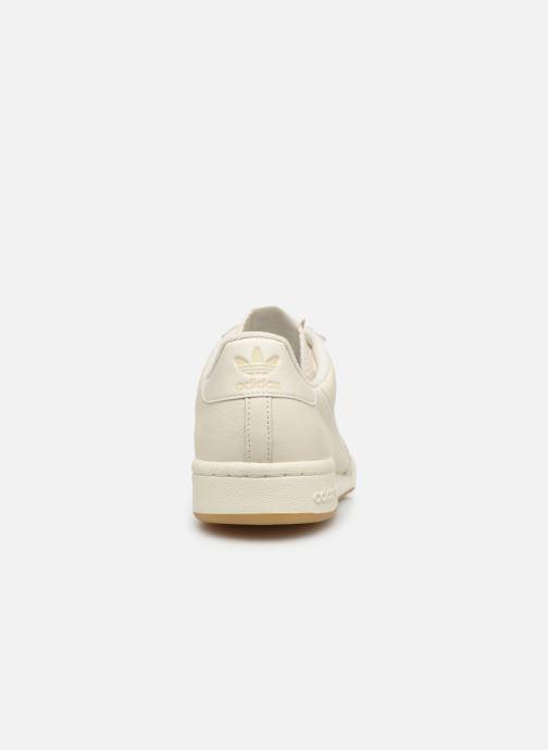 Deportivas adidas originals Continental 80 Blanco vista lateral derecha