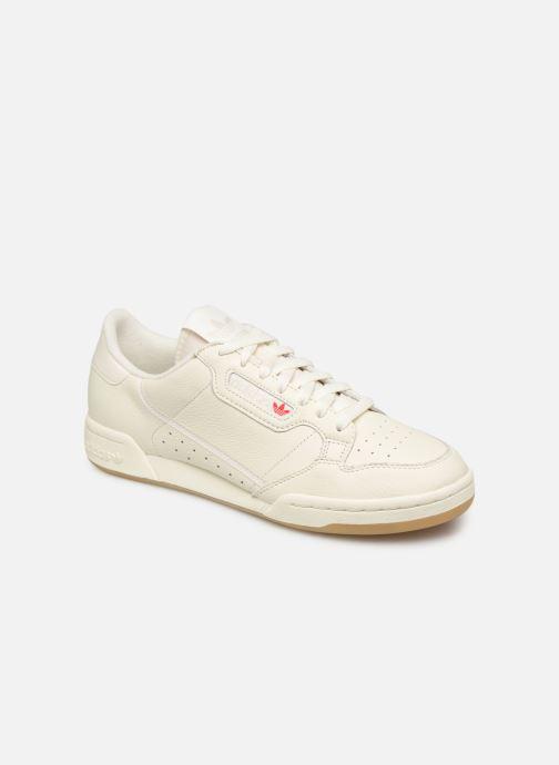 Deportivas adidas originals Continental 80 Blanco vista de detalle / par