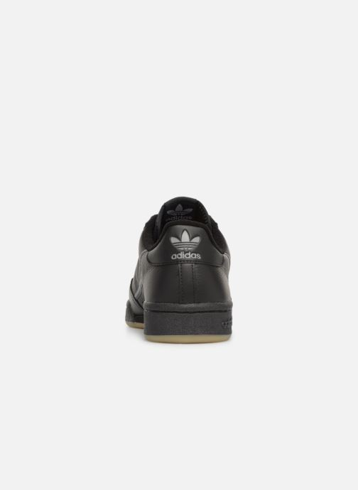 Trainers Adidas Originals Continental 80 Black view from the right