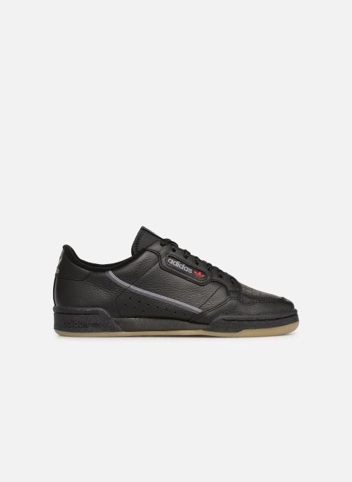 Baskets adidas originals Continental 80 Noir vue derrière