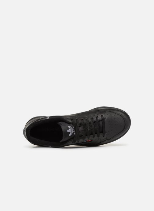 Baskets adidas originals Continental 80 Noir vue gauche