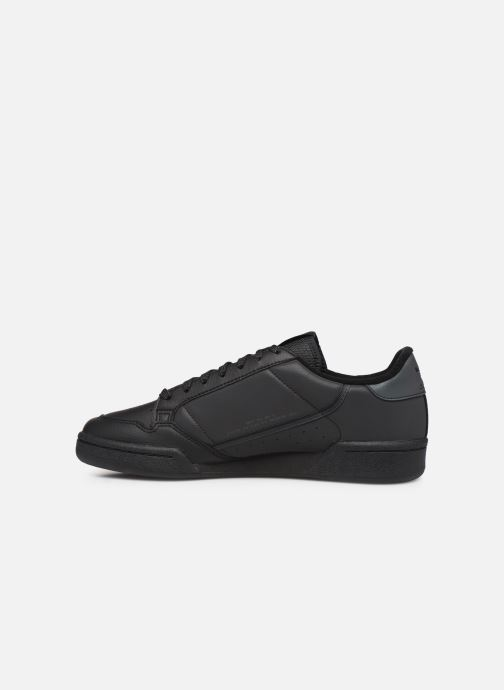 Sneakers adidas originals Continental 80 Nero immagine frontale