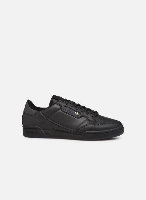 Sneakers adidas originals Continental 80 Zwart achterkant