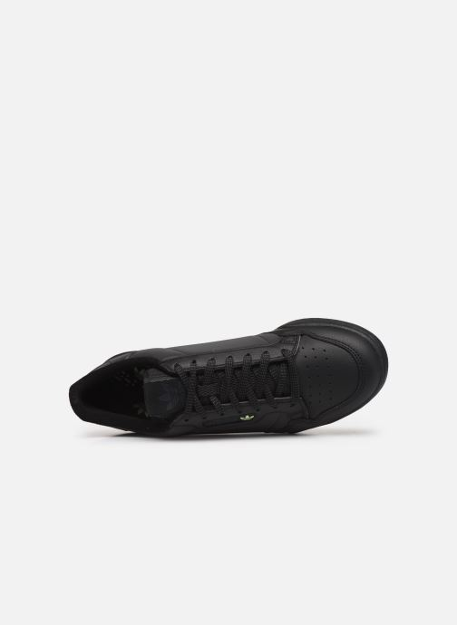 Sneakers adidas originals Continental 80 Nero immagine sinistra