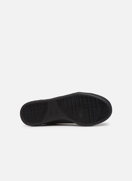 Sneakers adidas originals Continental 80 Zwart boven