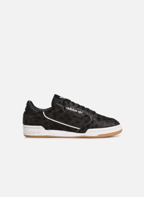 Sneaker adidas originals Continental 80 schwarz ansicht von hinten