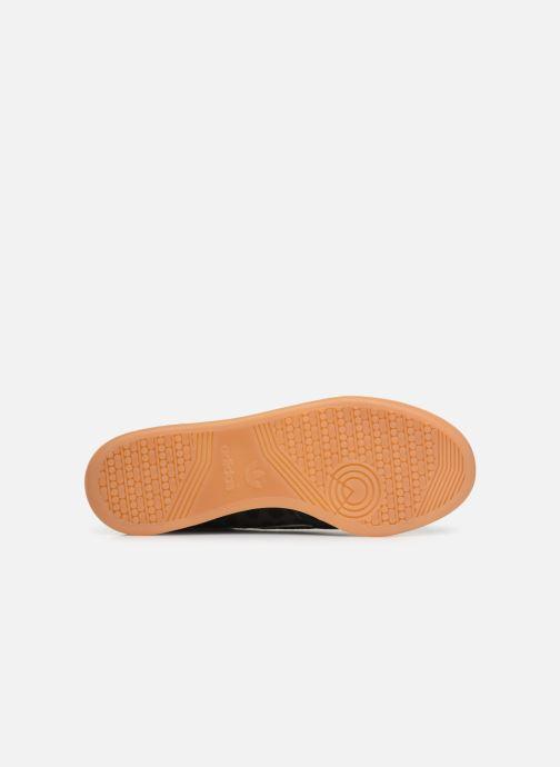 Sneaker adidas originals Continental 80 schwarz ansicht von oben