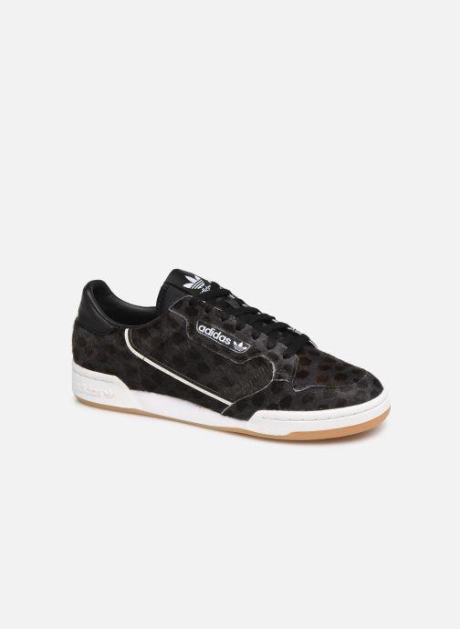 Sneakers adidas originals Continental 80 Zwart detail