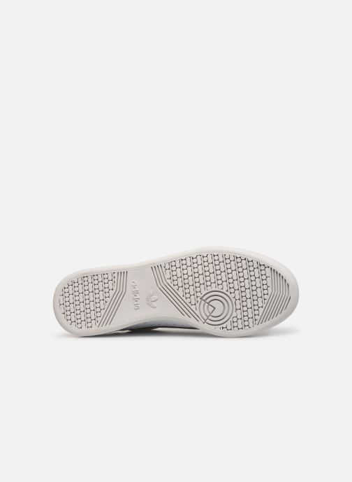 Baskets adidas originals Continental 80 Blanc vue haut