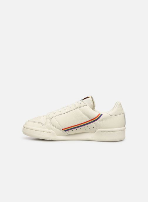 Sneakers adidas originals Continental 80 Wit voorkant