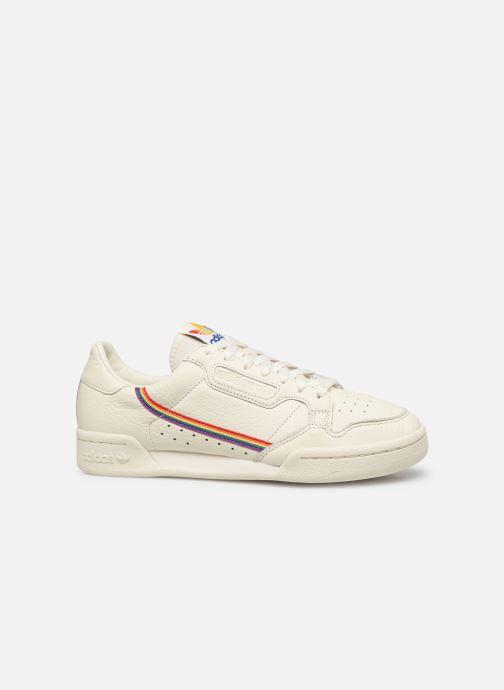 Sneakers adidas originals Continental 80 Wit achterkant
