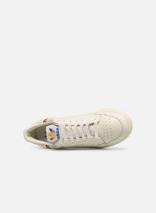 Baskets adidas originals Continental 80 Blanc vue gauche