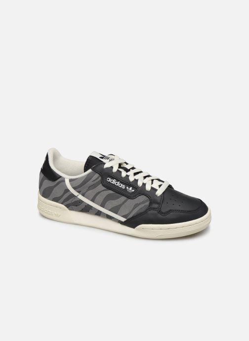 Baskets adidas originals Continental 80 Bleu vue détail/paire
